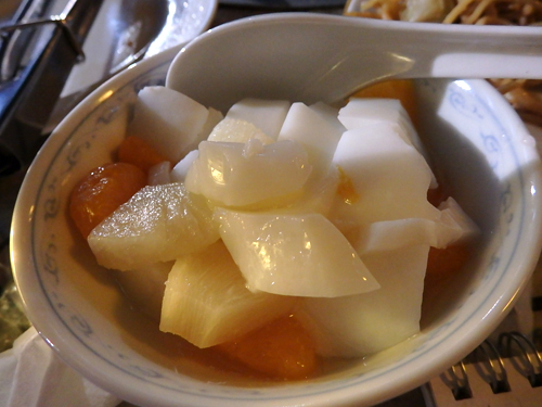 65杏仁豆腐