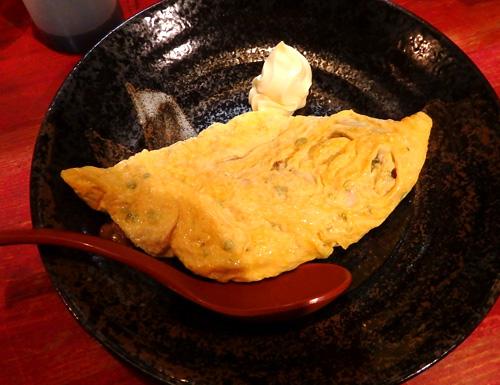 07納豆とチーズのオムレツ