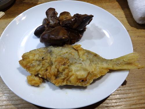 25鶏レバー煮アマギ南蛮