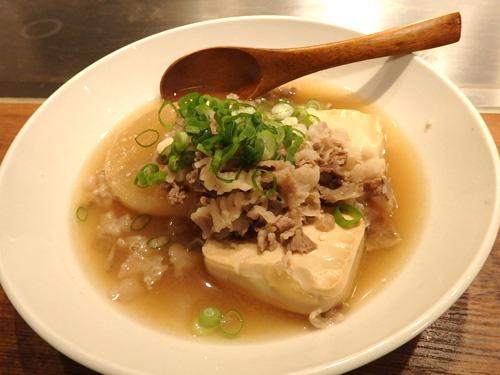 23肉豆腐&肉大根