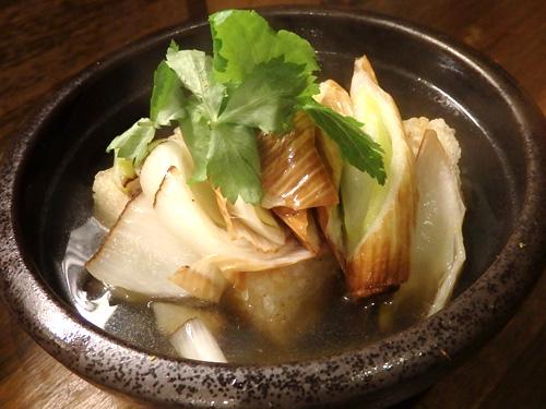 27下仁田葱と豆腐の揚げ出し