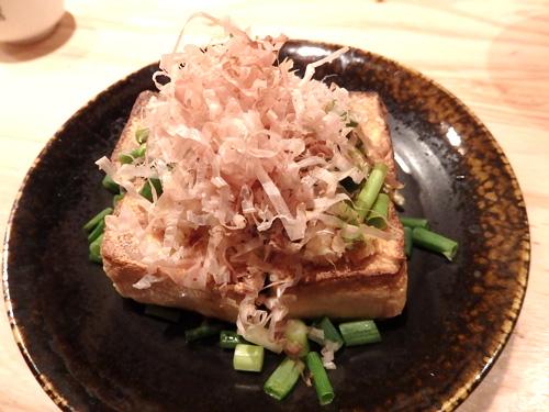 37沖縄島豆腐の厚焼き