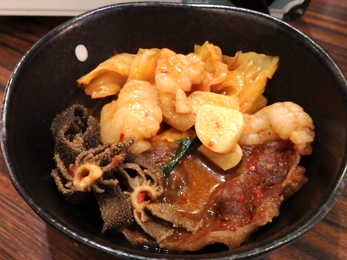 10ツラミ小腸センマイココロ