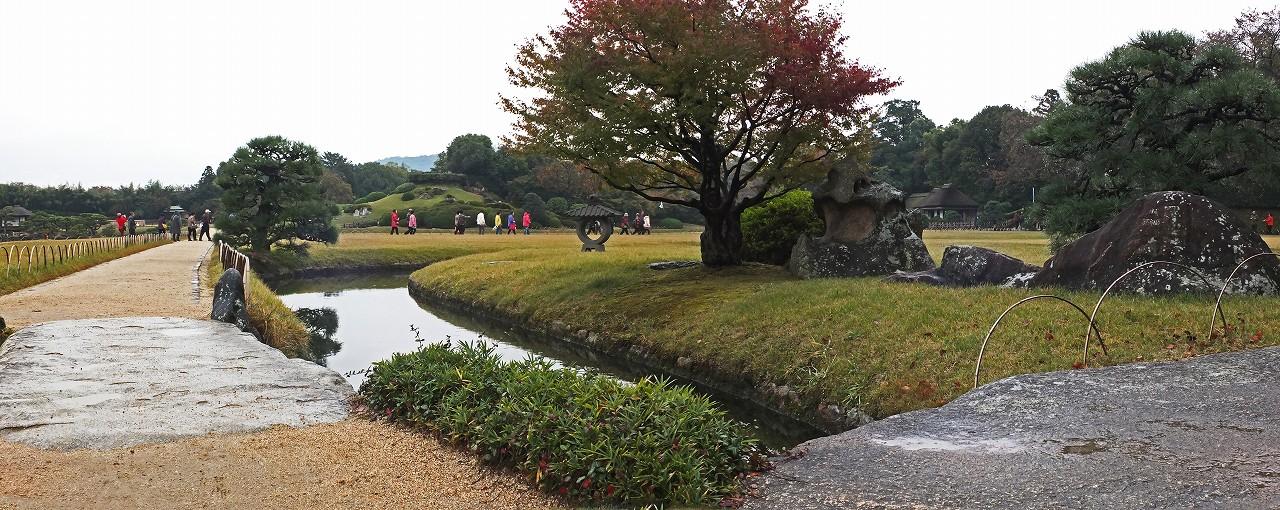 s-20151102 後楽園雨上り今日の園内ワイド風景 (1)