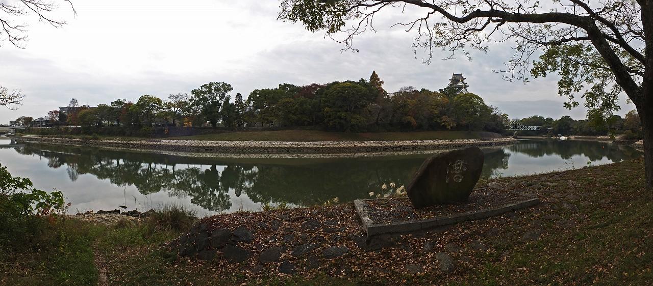 s-20151117 旭川水辺の回廊荒手茶寮付近からの眺めワイド風景 (2)