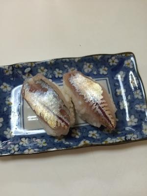 シマアジの握り寿司
