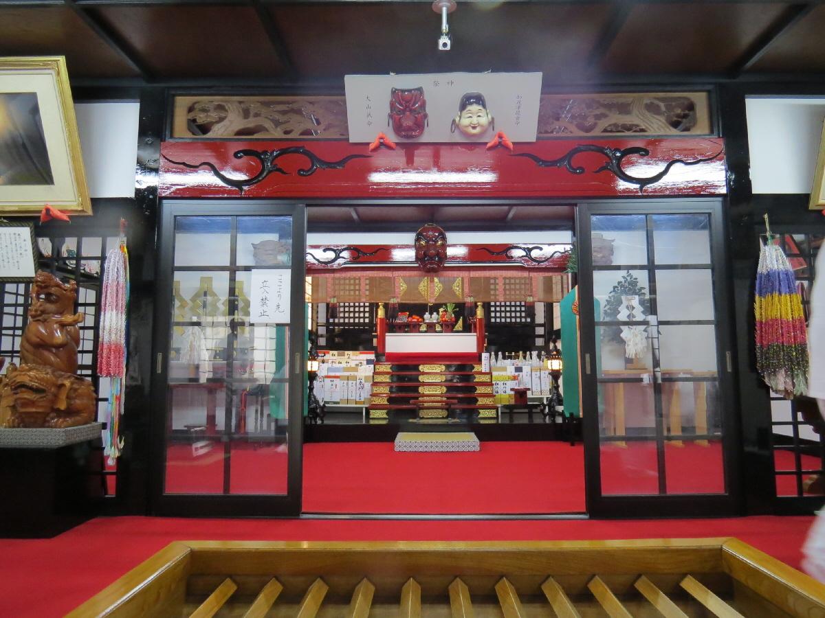 富士山隠れスポット新屋山神社04