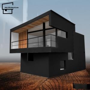模型 黒黒
