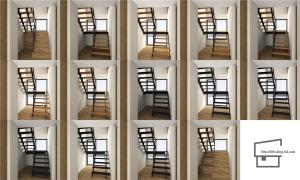 階段パターン