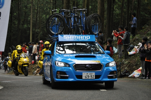 SHIMANO SUPPORT CAR SUBARU