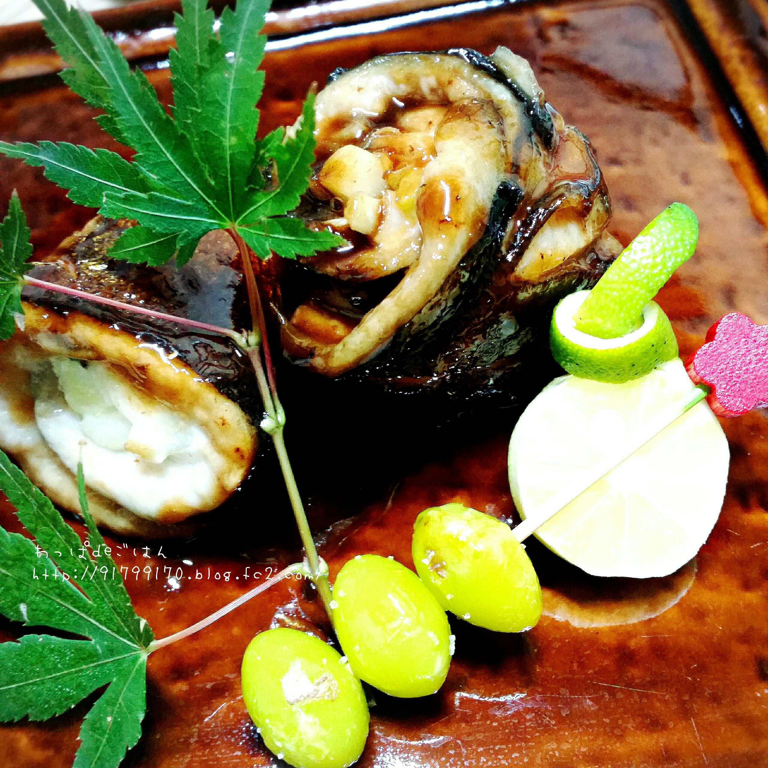 秋刀魚のワタ焼きの晩ごはん