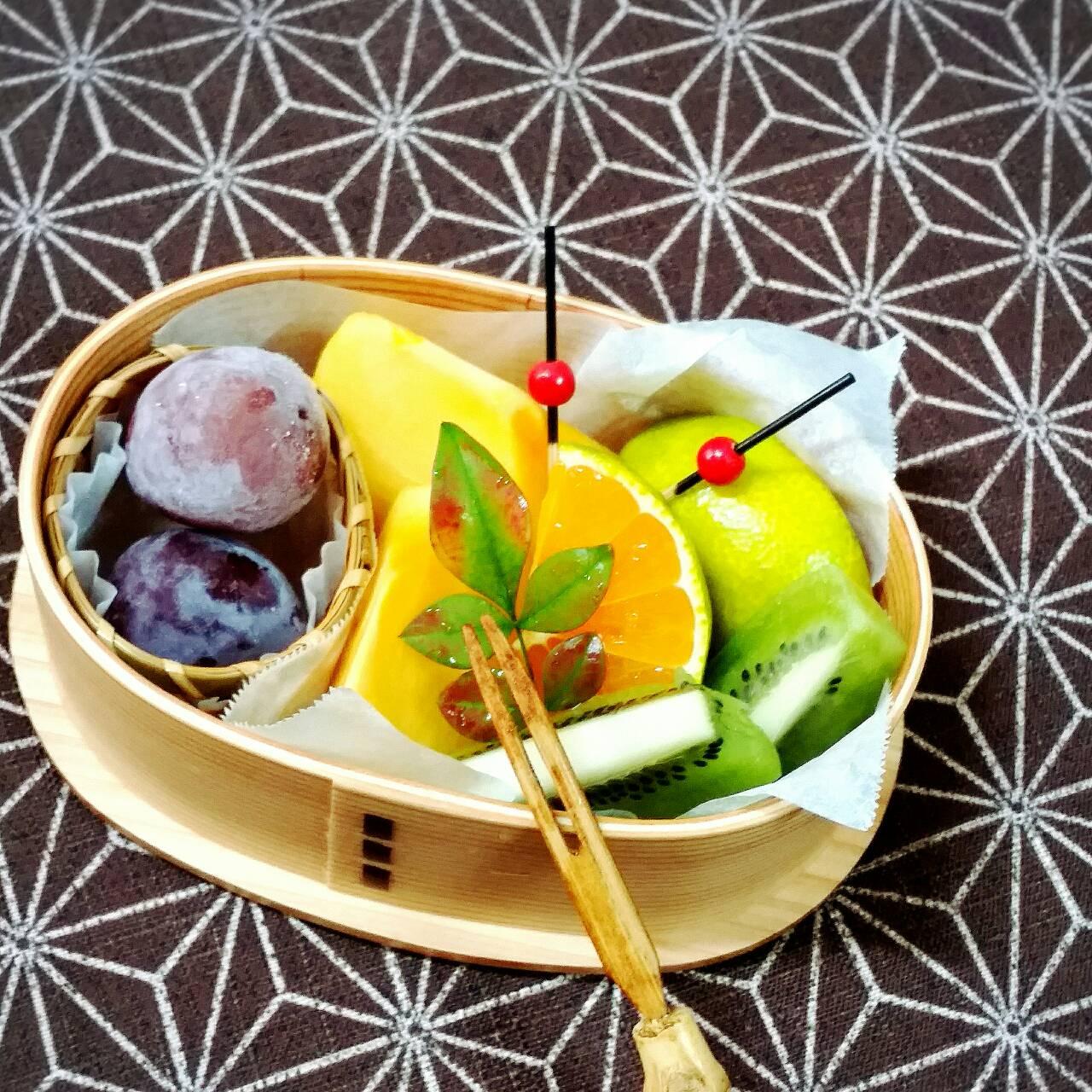 フルーツのわっぱ盛り