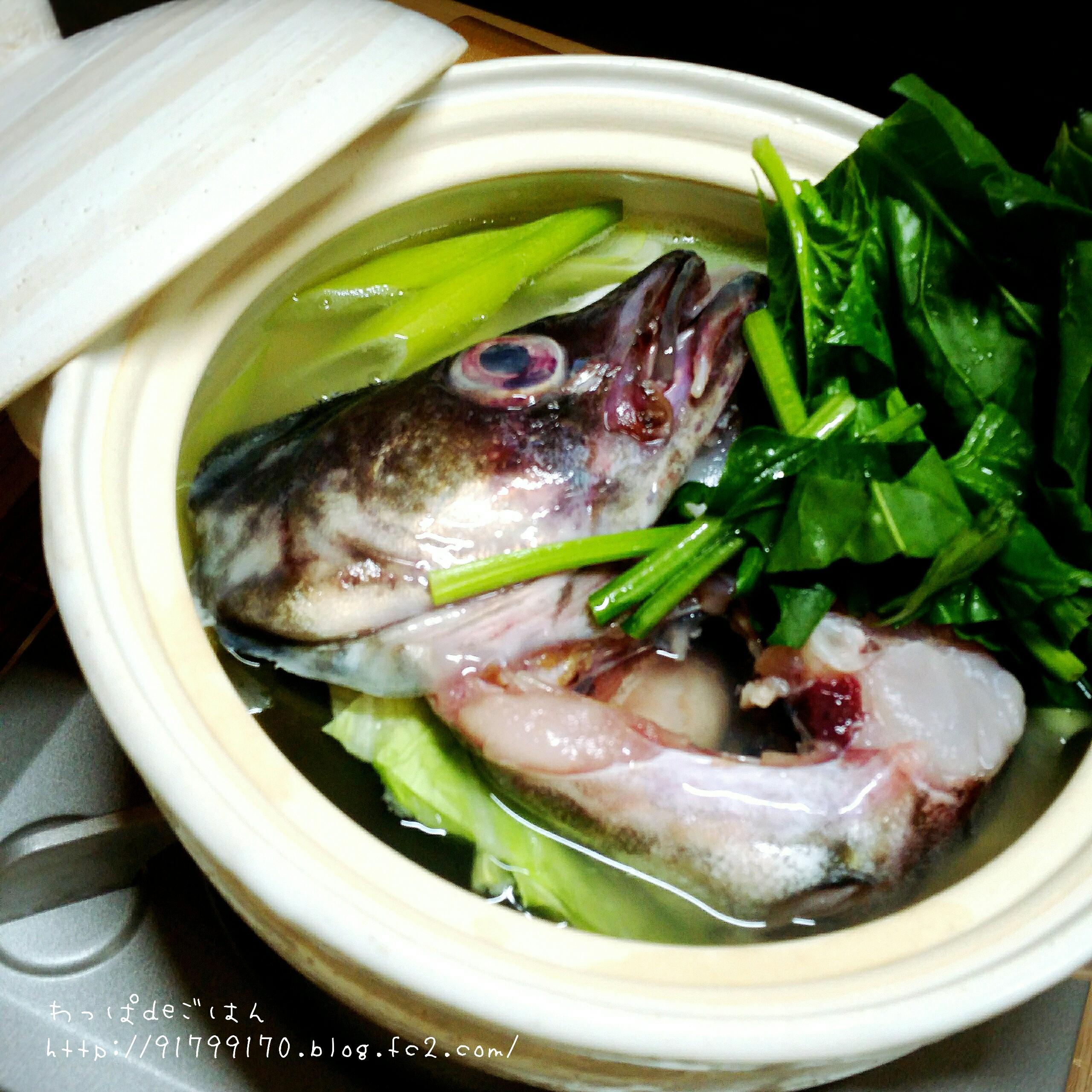 助宗鱈とキャベツの鍋