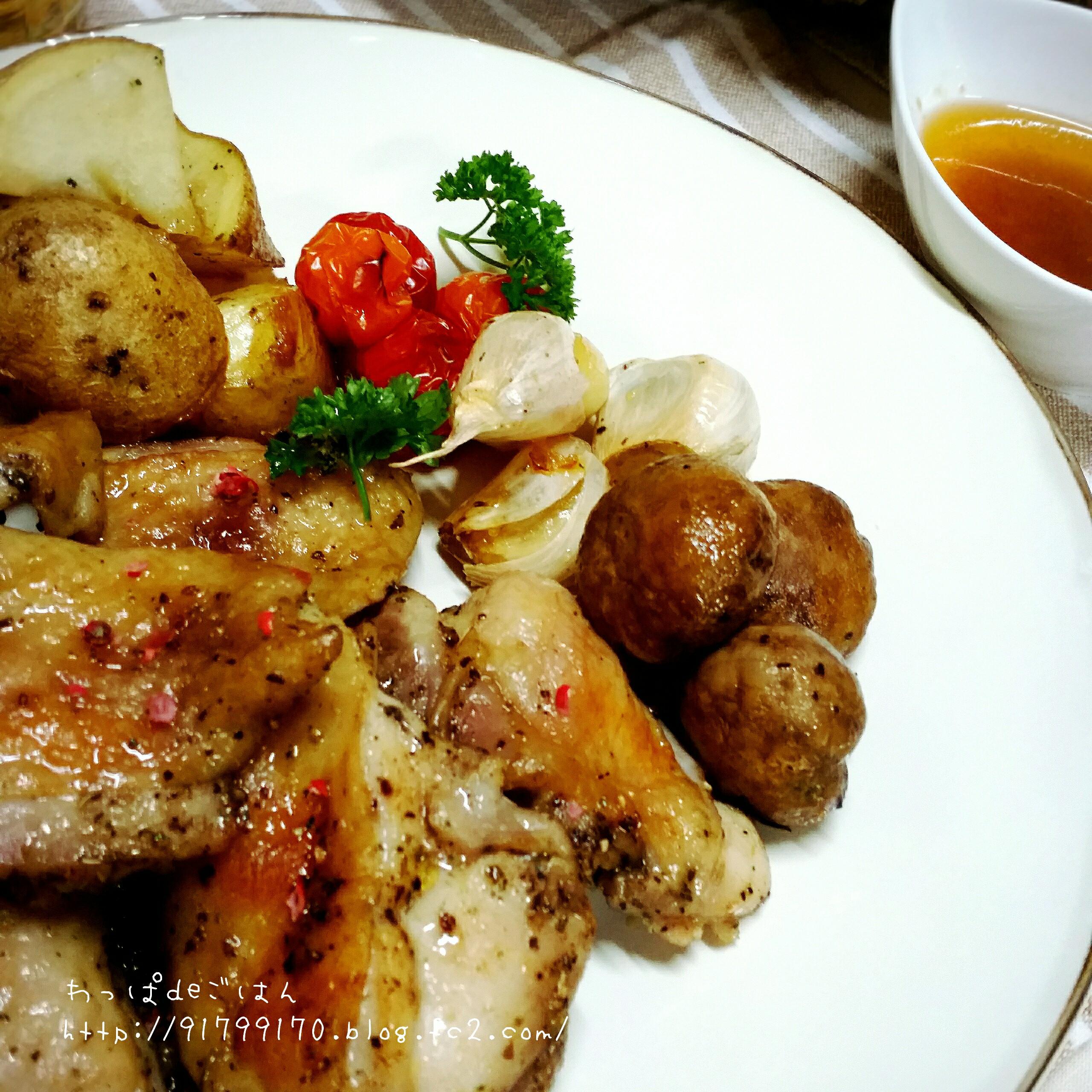 鶏モモ肉のオーブン焼き