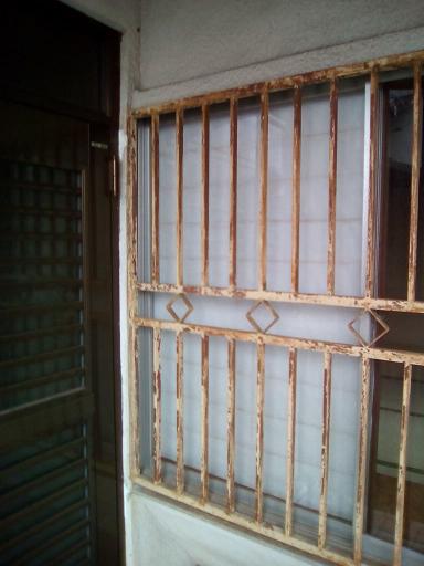 1F和室_窓格子_Before