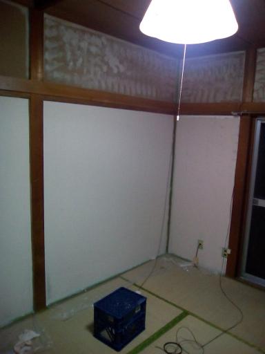 1F 和室の壁2