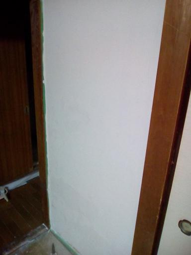 1F 和室の壁