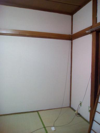 土壁塗り:ライトベージュの威力