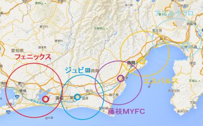 静岡サッカー王国(妄想)