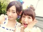 元AKB48 片山陽加 柏木由紀 セクシー 口開け 舌 顔アップ 自撮り エロかわいい画像10024