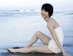 剛力彩芽 セクシー 水着 カメラ目線 ショートヘア 太もも 女優 高画質エロかわいい画像9500