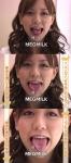舌モデル セクシー 舌出し 顔アップ カメラ目線 舌の体操 地上波キャプチャー 高画質エロかわいい画像9515