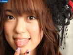 米沢瑠美 元AKB48 セクシー 舌出し 顔アップ カメラ目線 高画質エロかわいい画像9524