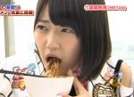 HKT48 宮脇咲良 セクシー 食事顔 顔アップ 口開け 下品 困り顔 地上波キャプチャー 高画質エロかわいい画像9548