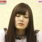 乃木坂46 白石麻衣 セクシー キス顔 顔アップ 目を閉じている 地上波キャプチャー 高画質エロかわいい画像9555