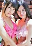 NMB48 渋谷凪咲 上西恵 セクシー ビキニ水着 おっぱいの谷間 カメラ目線 誘惑 高画質エロかわいい画像9604