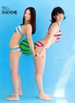 SKE48 古畑奈和 梅本まどか セクシー ビキニ水着 お尻相撲 全身 太もも 誘惑 高画質エロかわいい画像9665