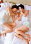 HKT48 宮脇咲良 兒玉遥 セクシー ナイトウェア 寝姿 太もも ベッドの上 高画質エロかわいい画像9686