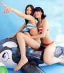 SKE48 古畑奈和 梅本まどか セクシー ビキニ水着 おっぱいの谷間 太もも 跨がり 高画質エロかわいい画像9691