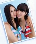 SKE48 古畑奈和 梅本まどか セクシー ビキニ水着 おっぱいの谷間 カメラ目線 誘惑 高画質エロかわいい画像9692