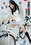 AKB48 菊地あやか セクシー ホットパンツ 股間食い込み 自転車 跨がり 開脚 太もも コスプレ 婦人警官 高画質エロかわいい画像9729