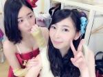 SKE48 松井珠理奈 セクシー 胸チラ おっぱいの谷間 大矢真那 自撮り ピース エロかわいい画像9859