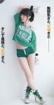 SKE48 松井珠理奈 セクシー ショートパンツ 太もも 股間食い込み 全身 高画質エロかわいい画像9894