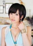 NMB48 山本彩 セクシー おっぱいの谷間 顔アップ カメラ目線 ショートヘア美人 高画質エロかわいい画像9933