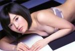 NMB48 山本彩 セクシー チューブトップビキニ水着 おっぱいの谷間 誘惑 高画質エロかわいい画像9981