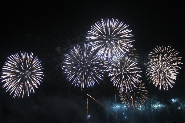 江の島花火2