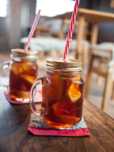 桃の家 ラ・ペスカ 桃の紅茶