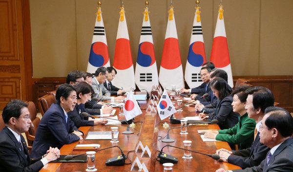20151103日韓首脳会談