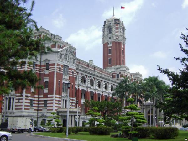 20151108台湾総統府