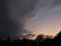 青葉城址の夕空