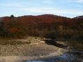 青葉山と広瀬川