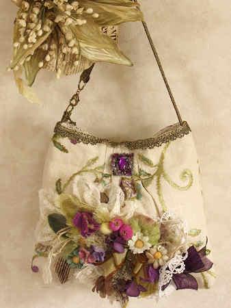 花のミニバッグ