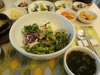 生野菜ビビンバ