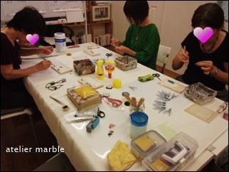千葉県旭市 アトリエマーブル つまみ細工 和雑貨 髪飾り オーダーメイド ワークショップ