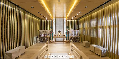 360°パノラマ写真-Belle Vie The Grand- 神殿