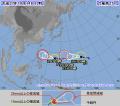 今日の台風